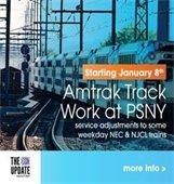 Amtrak work