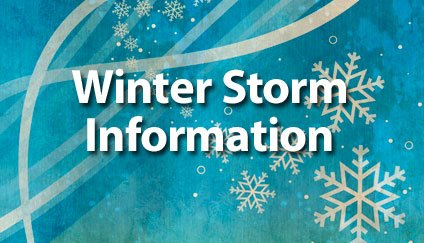 Updated Winter Storm Toby Information
