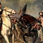 Hamilton and Burr, Battle of Monmouth