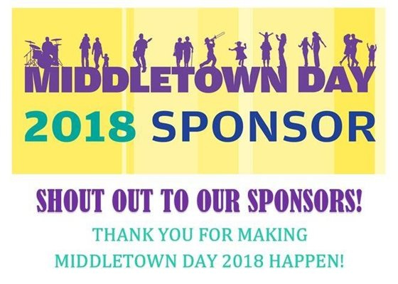 Middletown Day 2018 Sponsors