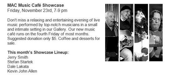 MAC Music Cafe Showcase