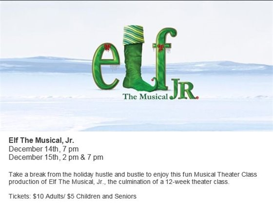 THE MAC PRESENTS ELF THE MUSICAL