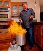 Turkey Fryer warnings