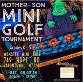 Mother-Son Mini Golf