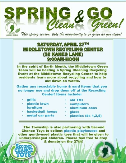 Spring Clean and Go Green