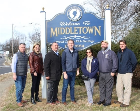Welcome to Middletown Sign 2020