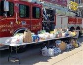 Lincroft Fire Drive Thru Food Drive