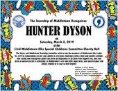 Hunter Dyson Award