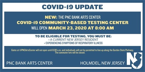 COVID-19 UPDATE: PNC TESTING CENTER