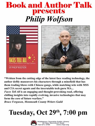 MTPL Presents: Author Talks with Philip Wolfson