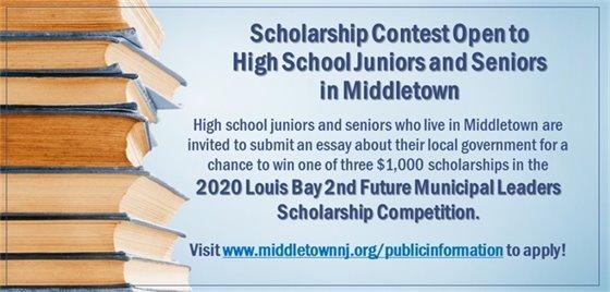 Louis Bay Scholarship 2020