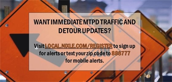 Traffic and Detour Updates