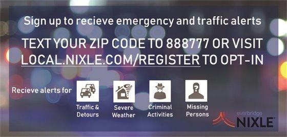 Nixle Alerts