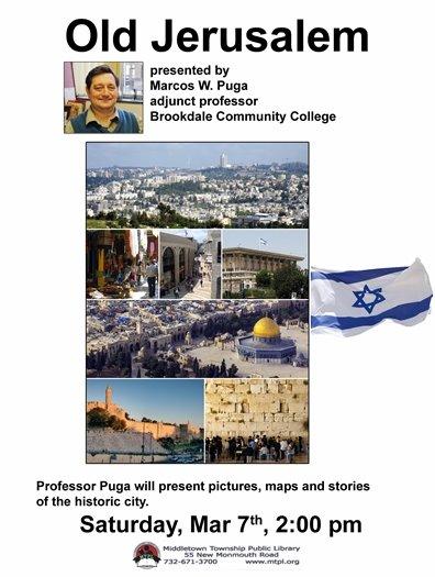 MTPL PRESENTS: OLD JERUSALEM