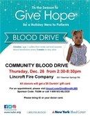 12/26 Blood Drive
