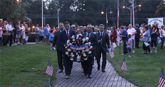 Middletown Remembers 9/11 Ceremony