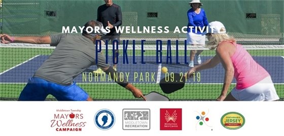 Pickleball Mayor's Wellness Campaign Activity
