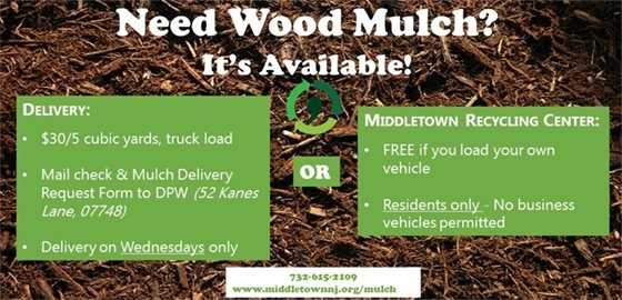 Mulch Available at DPW