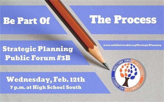 MTPS: Strategic Planning Public Forum