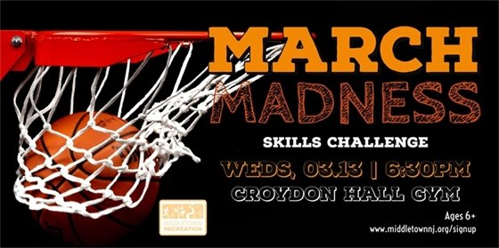 Middletown Recreation March Madness