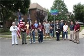 Veteran Street Sign Dedication