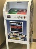 Permanent Project Medicine Drop Off Box