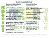 Middletown Rec Summer Events
