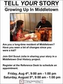 MTPL: Tell Your Story Growing Up in Middletown