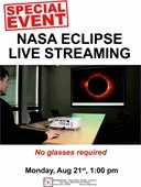 NASA Eclipse Live Streaming