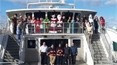 Santa Ferry Ride 2017!
