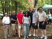 Township Committee with First Responders
