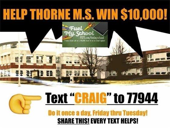 Help Thorne!
