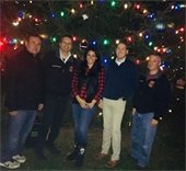 Xmas tree lighting