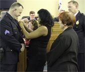 Officer Mark Ward Promoted to Sergeant