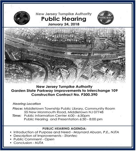 NJTA Public Hearing