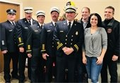 Fire Chief's elected for 2018