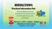 Preschool Information Fair