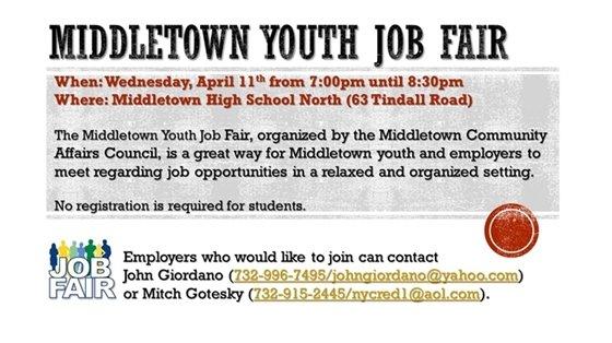 Middletown Youth Job Fair