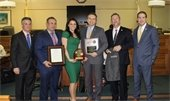 Freeholder Scharfenberger honored at TCM