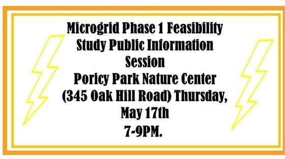 Microgrid Public Info Session