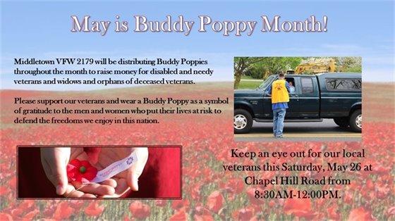 Buddy Poppy Month