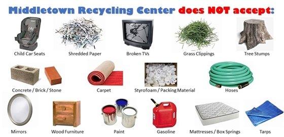 Recycling Center Info