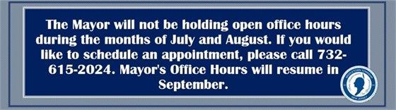 Mayor's Office Hours