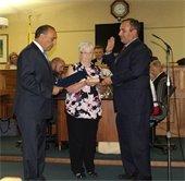 Anthony Fiore Sworn In