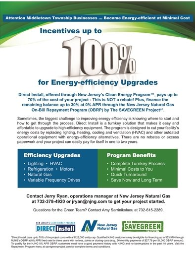 NJNG Energy Efficiency Businesses Initiative