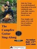 MTPL- Campfire Guitar Sing-Along with Joe Verga