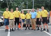 Mayor Kevin Settembrino and Explorers