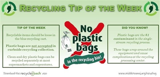 Recycling Tip of the Week: Week 1