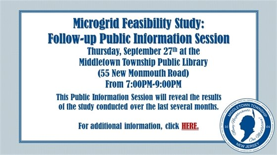 Microgrid Public Information Session