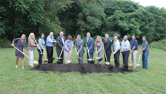 Green Roof Pavilion Ground Breaking